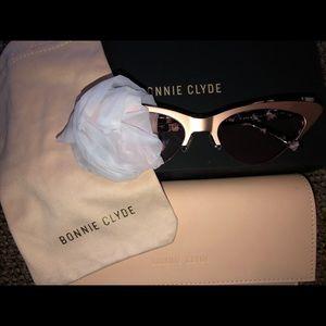 Bonnie Clyde Layer Cake Cat Eye Sunglasses